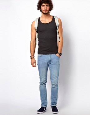 Image 4 ofASOS Rib Vest