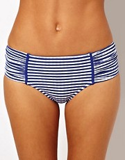 Seafolly Lucia Ruched Side Retro Bikini Pant