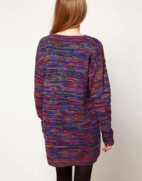 Image 2 ofASOS Jumper Dress In Twist Yarn