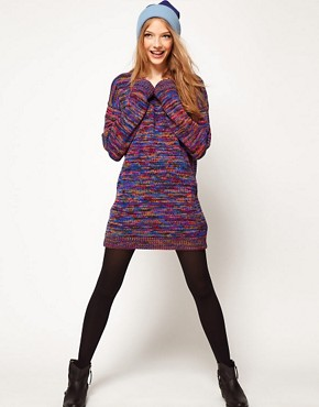 Image 4 ofASOS Jumper Dress In Twist Yarn