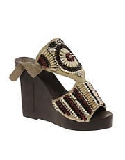 Park Lane Beaded Wedges