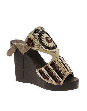 Image 1 ofPark Lane Beaded Wedges