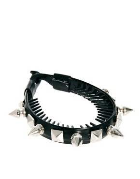 Image 2 ofRiver Island Spiked Bun Top Head Band