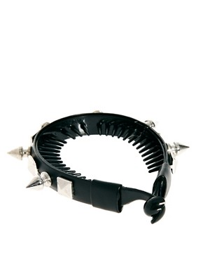 Image 4 ofRiver Island Spiked Bun Top Head Band