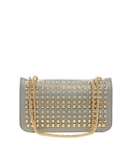 Liquorish Studded Chain Shoulder Bag