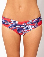 Seafolly Tropical Beat Twist Band Hipster Bikini Pant