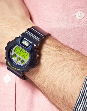 Image 3 of Casio G-Shock DW-6900SB-2ER Blue Digital Watch