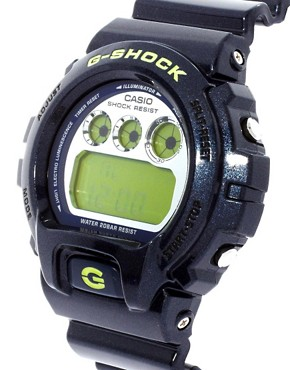 Image 4 of Casio G-Shock DW-6900SB-2ER Blue Digital Watch