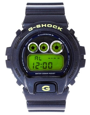 Image 1 of Casio G-Shock DW-6900SB-2ER Blue Digital Watch