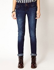 River Island Matilda Skinny In Blue Denim