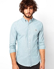 Polo Ralph Lauren Slim Shirt in Chambray