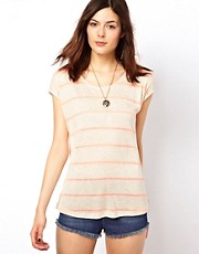 Warehouse Neon Stripe T-Shirt
