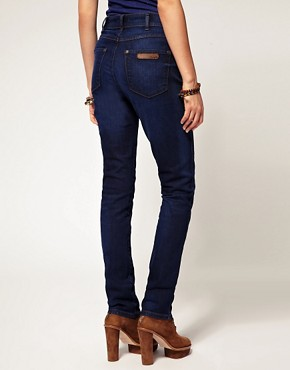 Image 2 ofWrangler High Waisted Skinny Jeans