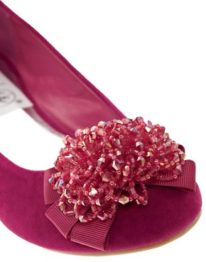 Image 4 ofTimeless Corsage Flat Pumps