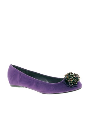 Image 1 ofTimeless Corsage Flat Pumps