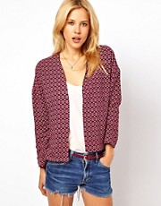 ASOS Blazer in Geo Tile Print