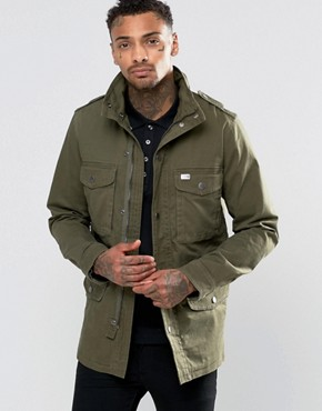 Diesel J-Rico-LLC Military Jacket