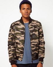 Bellfield Camo Bomber Jacket