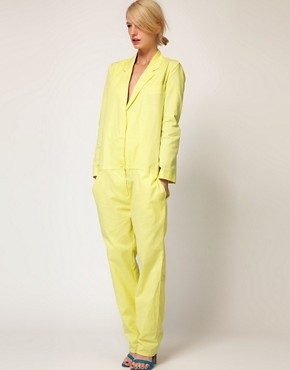 Image 1 ofASOS Sexy Boiler Jumpsuit