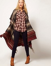 Denim &amp; Supply By Ralph Lauren Stripe Poncho