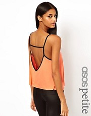 ASOS PETITE V Front and Back Swing Cami