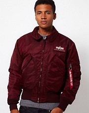 Alpha Industries CWU 45 Pilots Jacket
