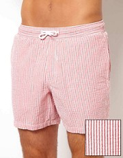 ASOS Stripe Swim Shorts