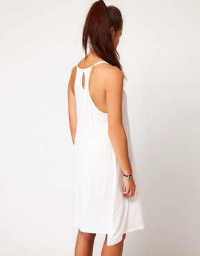 Image 2 ofVila Strappy Jersey Dress