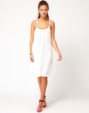 Image 4 ofVila Strappy Jersey Dress