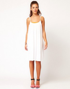 Image 1 ofVila Strappy Jersey Dress