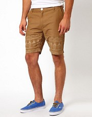 Bellfield  Shorts mit Paisley-Muster