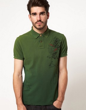 Image 1 ofPolo Ralph Lauren Polo with Indian Head Print