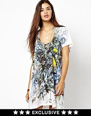 Religion Peacock Dress-Asos Exclusive