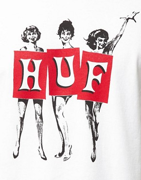 Image 3 ofHuf T-Shirt Nude Girls