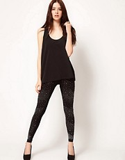 Club L Diamante Legging
