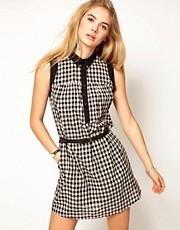 Pepe Jeans Gingham Shirt Dress