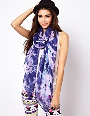 ASOS Tie Dye Studded Scarf