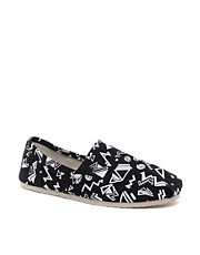 New Look 90's Print Espadrilles