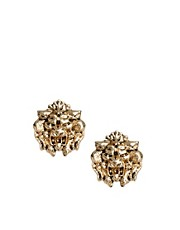 ASOS Lion Head Earrings