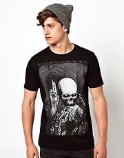 Disturbia T-Shirt Skull Wish