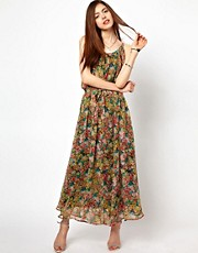 Just Female Floral Maxi Dress