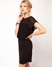Oasis Sparkle Lace Layer Dress