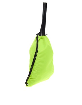 Image 2 ofASOS Nylon Shopper Backpack