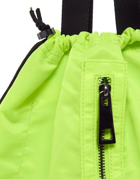 Image 4 ofASOS Nylon Shopper Backpack