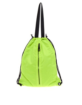 Image 1 ofASOS Nylon Shopper Backpack