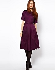ASOS Midi Dress With Full Skirt