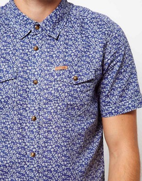 Image 3 ofFiretrap Shirt Short Sleeve With Floral Print