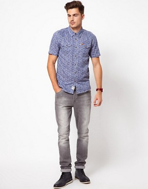 Image 4 ofFiretrap Shirt Short Sleeve With Floral Print
