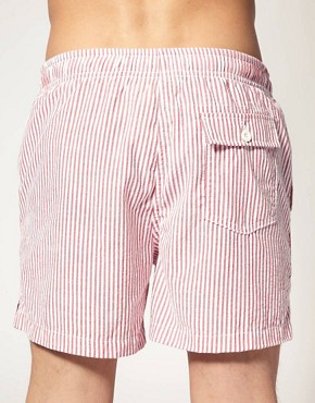 Image 2 of ASOS Stripe Swim Shorts
