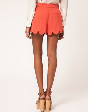 Image 2 ofLipsy Scallop Edge Short